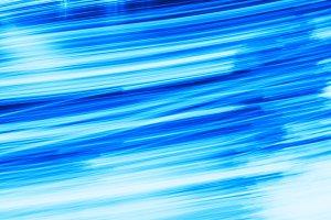 Motion blur blue waves background
