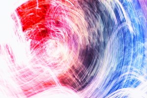 Colorful swirl motion blur background