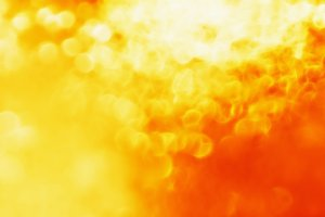 Orange fire bokeh texture background