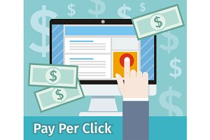 Pay per click internet advertising