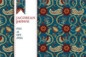 Jacobean pattern