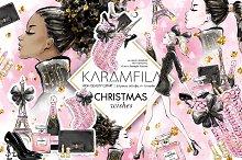 Christmas Fashion Clipart