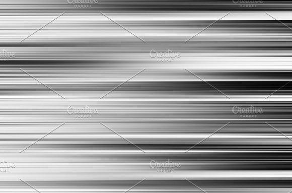 Horizontal Black And White Motion Blur Panels Background