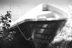 Norway black and white boat object  background