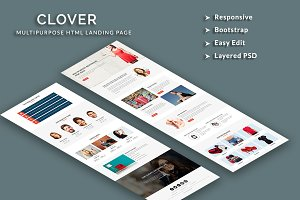 Clover - Responsive HTML Template
