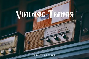 Vintage Things Photo Pack