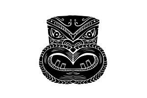 New Zealand Maori Koruru