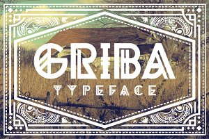 50% OFF GRIBA Typeface