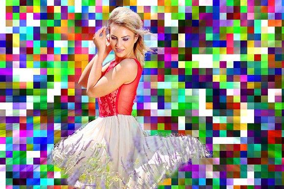 Pixel Colors Photoshop Action