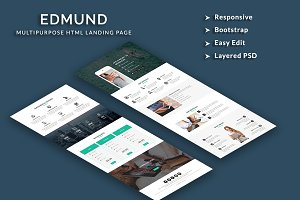 Edmund - Responsive HTML Template