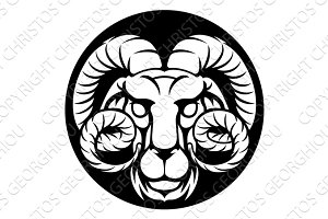 Ram Aries Zodiac Horoscope Sign