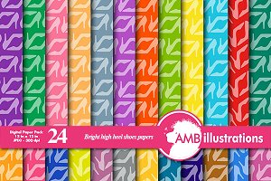 Bright High Heels Papers, 366