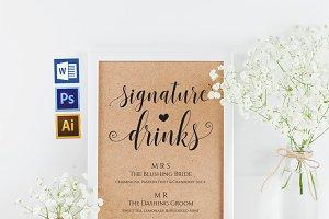 Signature Drinks Wpc289