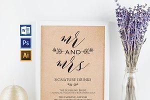 Signature Drinks Wpc291