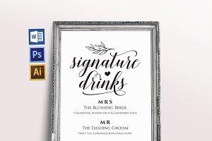 Signature Drinks Wpc292