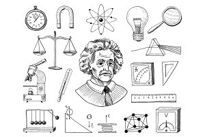Science frame ~ Illustrations ~ Creative Market