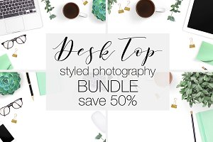 Desk Styled Stock Photography Bundle