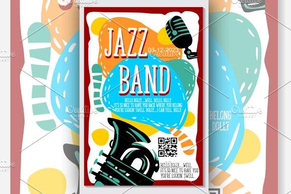Music Jazz Band Concert Vector