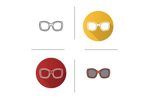 Women's sunglasses icon