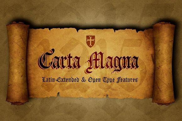 Carta Magna Gothic Fonts