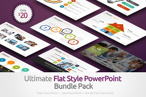 Ultimate Flat Style Bundle