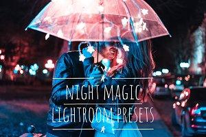 Night Magic Lightroom Presets