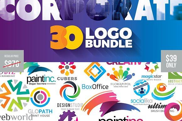95% Off Corporate Logo Big Bundle