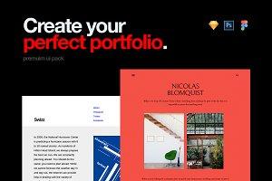 Folio UI Kit for Portfolio