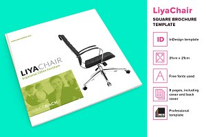 LiyaChair - Square Brochure Template
