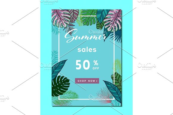 Summer Sale Background Layout For Banners Wallpaper Flyers Invitation Posters Brochure Voucher Discount.Vector Illustration Template
