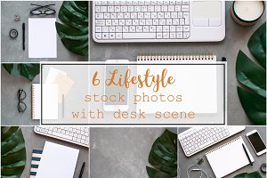 6 lifestyle stock photos