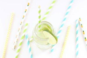 Lemonade & Straws II - Styled Photos