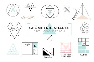 Vector Geometric Shapes & Art Logo