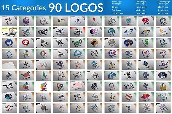90 Big Bundle Logos