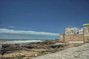 Essaouira with beach