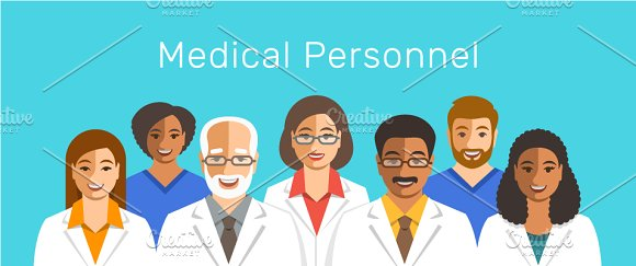 Doctors And Nurses Medical Team