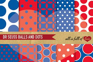 Dr Seuss Background Patterns