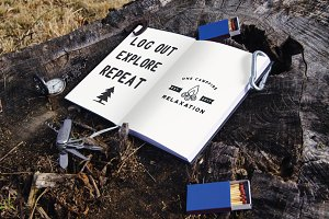 Mockup - Notebook