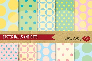 Easter Scrapbook Pattern Pack