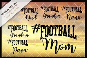 Football Sports Fan Decal files