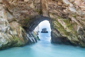 Sea Cave in Shark Tooth Beach.