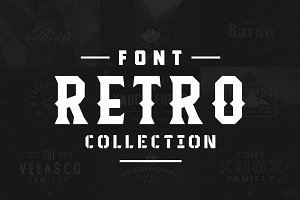 Retro Font Collection