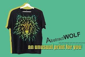 print wolf