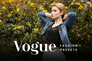 Vogue FX - Lightroom Presets