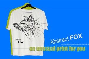 Fox print t-shirt