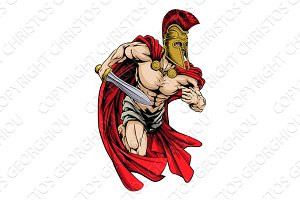 Spartan sports mascot