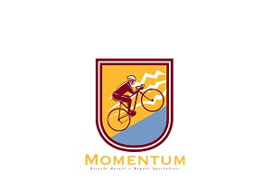Momentum Bicycle Repair Logo