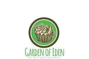 Garden of Eden Green Grocer Logo