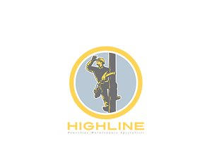 Highline Powerline Maintenance Logo