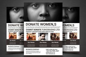 Charity Fundraisers Flyer Templates